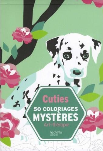 Cuties, 50 coloriages mystères, Maria Machulska-Le Méné