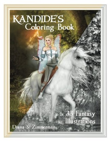 Kandide's Coloring Book, Diana S. Zimmerman