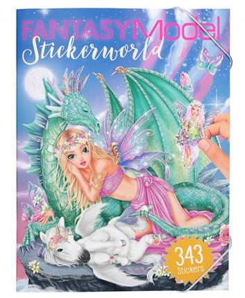 Fantasy model, Víla s drakem, Sticker world
