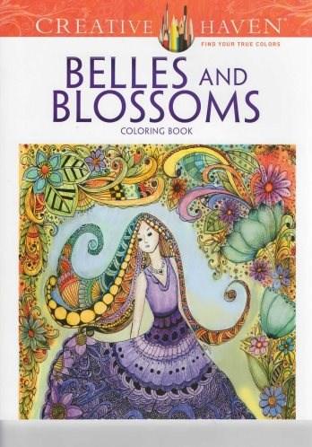 Omalovánka pro dospělé, Belles and Blossoms
