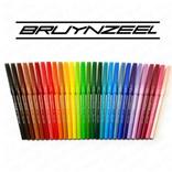Bruynzeel, 7001Z30, sada, tenké fixy, 30 ks