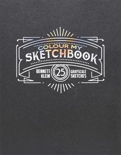 Omalovánka pro dospělé, Colour my Sketchbook