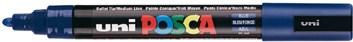 Uni ball, PC-5M, Posca, dekorační popisovač, základní barvy - indigo