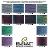 Royal Talens, 05838691, Rembrandt, sada mistrovských akvarelových barev, 12 pánviček, Speciality colours