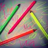 Suchý zvýrazňovač Maxi neon, růžová, Caran d'Ache