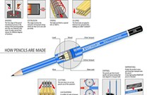 Staedtler, 100-4H, Mars Lumograph, grafitová tužka, 1 ks, 4H