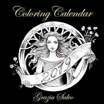 Coloring Calendar 2019, Grazia Salvo