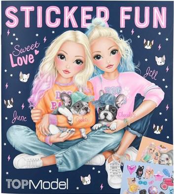 Top model, Sticker fun, kniha se samolepkami
