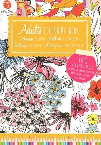 Omalovánka pro dospělé, Adult Colouring Book 2
