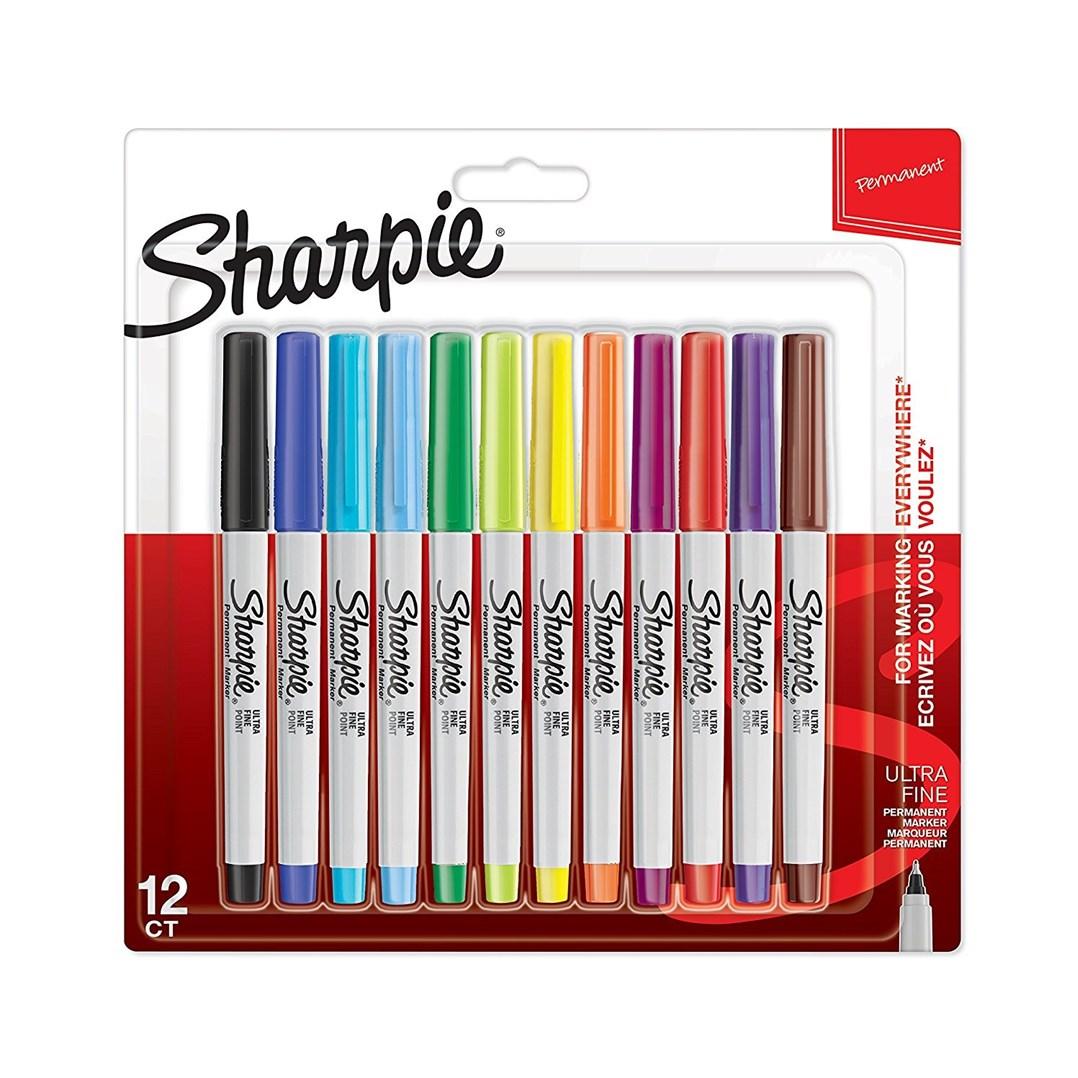Sharpie, 2065408, sada permanentních linerů, 12 ks