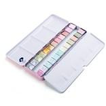 Paul Rubens, 20180829lw0002, sada perleťových akvarelových barev, 1/2 pánvičky, 24 ks