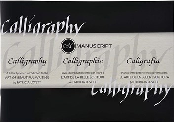 Manuscript, MC387B, kaligrafický manuál s návody, 1 ks