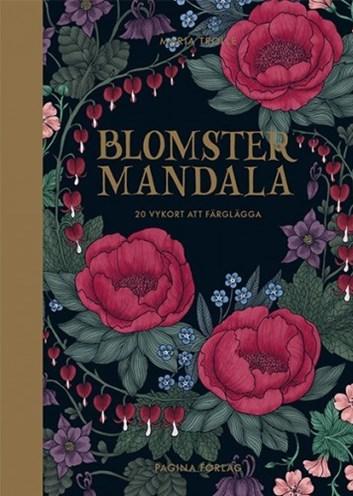 Blomstermandala, 20 pohlednic, Maria Trolle