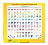 Colored pencils, 100 ks, Crayola pastelky v nejširší barevné škále, jakou lze dostat.