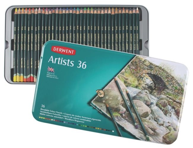 Artists Derwent, 36 kusů