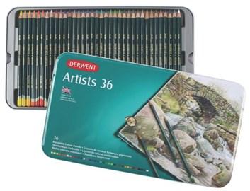 Derwent, 32096, Artists, umělecké pastelky, 36 ks