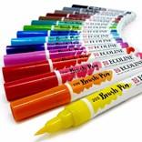 Royal Talens, 11509003, Ecoline brushpen set, sada štětečkových akvarelových popisovačů, 15 ks