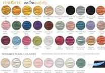 Coliro, M600, metalické, Pearl colors, perleťové akvarelové barvy, 6 odstínů, Gold/Silver