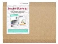 Tombow, THOME-WCS, Have fun home set, Watercoloring, dárková sada pomůcek pro akvarel, 14 ks
