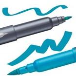 Staedtler, 3004 TB12, Brush letter Duo, brush popisovače, oboustranné, 12 ks