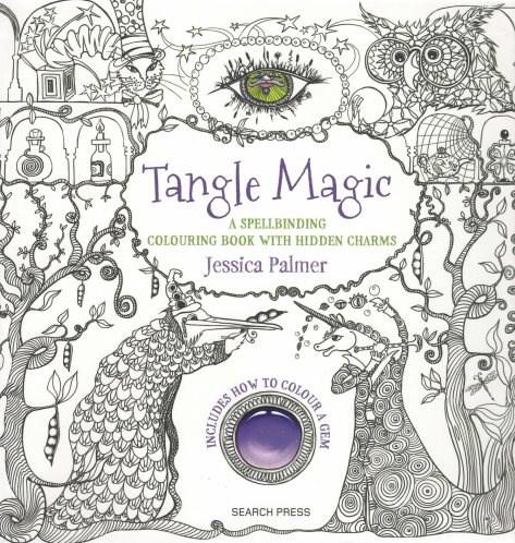 Omalovánka pro dospělé, Tangle Magic