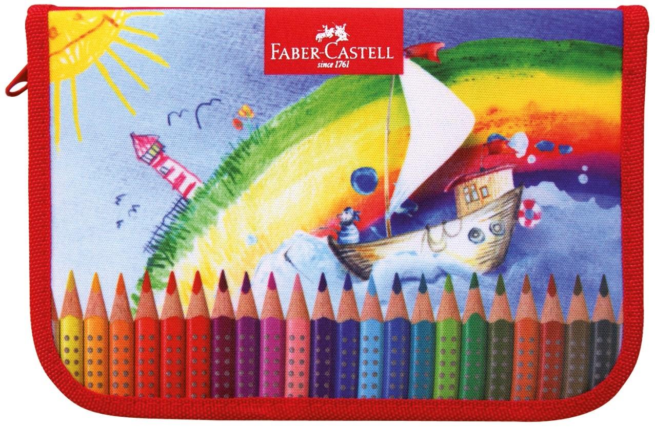 Faber-Castell, 573001, školní penál s motivem GRIP, prázdný
