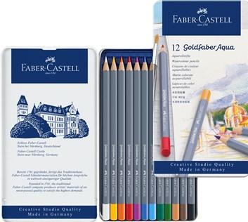 Faber Castell, Goldfaber Aqua, 114612,  sada 12 ks