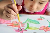 Crayola, 54-0125, Washable Kids Paint, temperové barvy v kelímku, vypratelné, 18 ks
