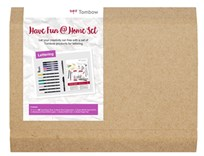 Tombow, THOME-LS, Have fun home set, Lettering, dárková sada kaligrafických pomůcek, 16 ks