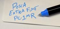 Uni-ball, PC-1MR, Posca, sada akrylových popisovačů, 0,7 mm, 16 ks