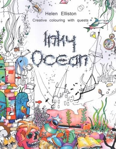 Omalovánka pro dospělé, Inky Ocean
