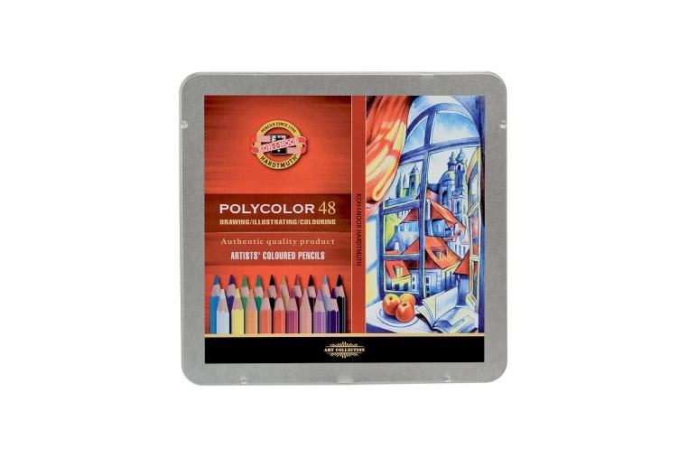 Souprava pastelek uměleckých, Polycolor 48