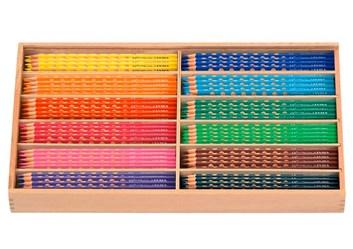 Lyra Rembrandt, 6300290, Groove slim, ergonometrické pastelky, 12 barev, sada 144 kusů