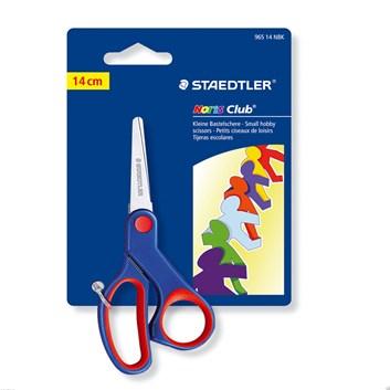 Staedtler, 965 14 NBK, Noris club, nůžky 14 cm, červená, 1 ks