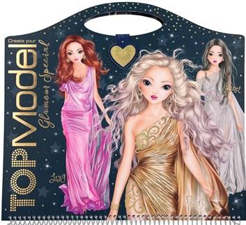 Top model, Glamour special 2, kniha se samolepkami