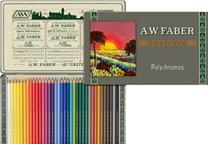 Faber-Castell, 211003, Polychromos, umělecké pastelky nejvyšší kvality, limitovaná edice, retro, 36 ks