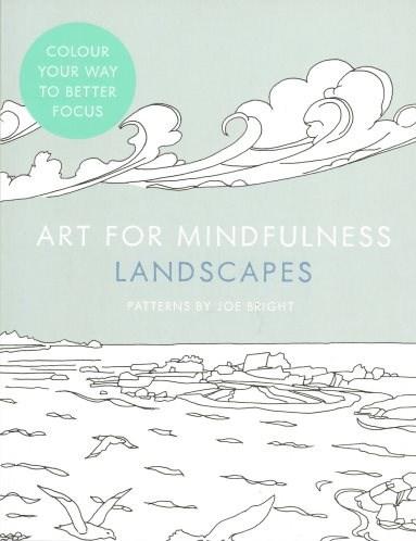 Omalovánka pro dospělé, Art for Mindfulness, Landscapes