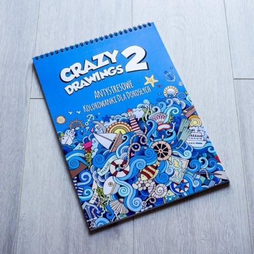 Omalovánka pro dospělé, Crazy Drawings 2