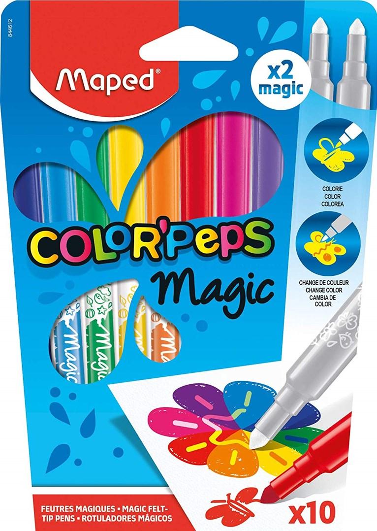 Maped, 844612, Color´ Peps Magic, magické fixy, 10 ks