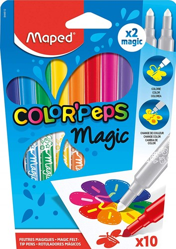 Maped, 844612, Color´ Peps Magic, magické fixy, 10 ks