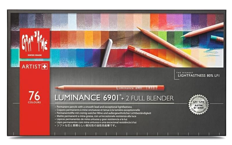 Caran d'Ache Luminance 76 kusů