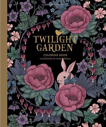 Blomstermandala AJ (Twilight garden)