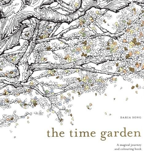 Omalovánka pro dospělé, The Time Garden