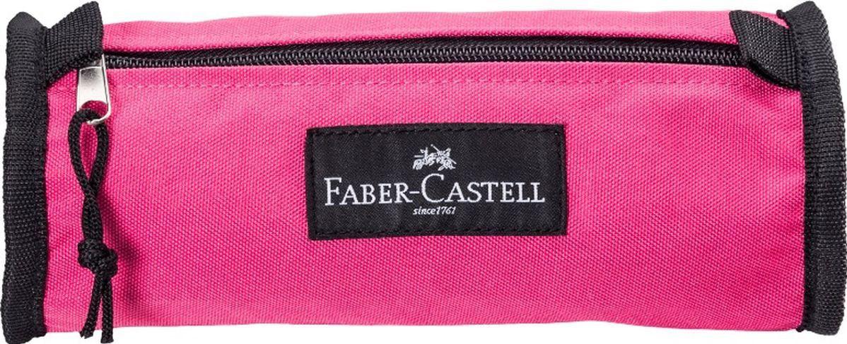 Faber-Castell, 573138, pouzdro College colour na tužky a pastelky, růžová
