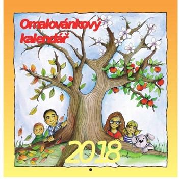Omalovánkový kalendář 2018, Blanka Kučerová