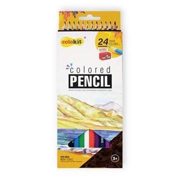 Colokit, CPC-C015, sada školních pastelek, 24 ks