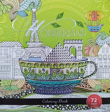Ditipo, 7222001, antistresové omalovánky, Wonderland