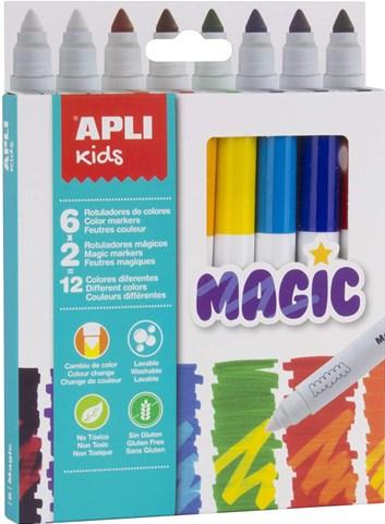 Apli, 16808, Kids Magic, magické fixy, 8 ks