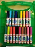 Crayola, 04-0379-E-000, Create & Colour, cestovní sada fixů s pracovními listy, 65 ks