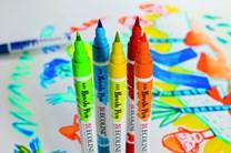 Royal Talens, 11509002, Ecoline brushpen set, sada štětečkových akvarelových popisovačů, 10 ks
